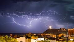 Rayos fin de fiestas (Popewan) Tags: storm tormenta rayos mazarron megashot ostrellina