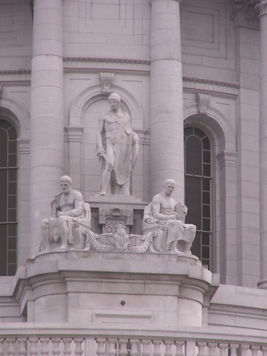 Madison, WI, Capitol Building Statuary 2