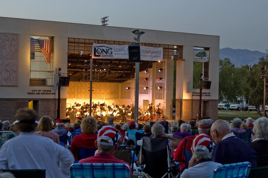 Tucson Pops Orchestra in Reid Park