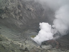 Inside Bromo's crater (Crap screen name) Tags: indonesia mountbromo