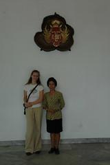 Foto: Iza en onze gids