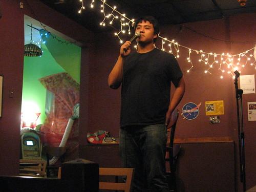Open mic at Charleston's