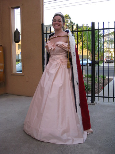Erin as the Queen of Awesomeness