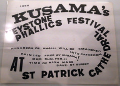 Kusamas Phallic Festival,  In Infinity, Helsinki Art Museum (Steve Weaver) Tags: art helsinki museum ham finland suomi yayoikusamo phallus phallic festival new york ininfinity wildchild 60s popart movement 1968 poster