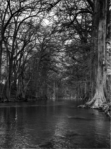 Guadalupe River B&W