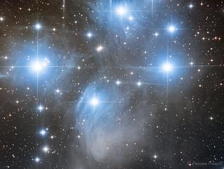 Pleiades M45 very close