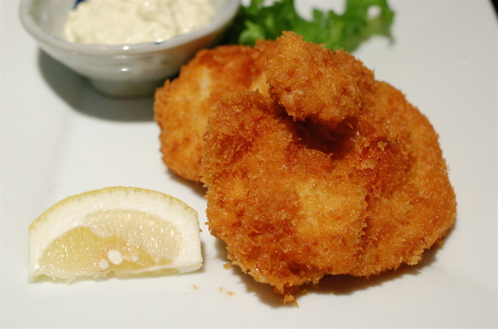 deep fried cod