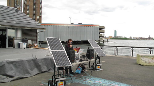 wfmu's first solar-powered wireless broadcast!!!!!!!