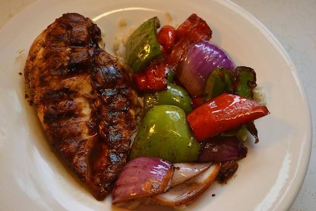 Grilled Honey Soy Glazed Chicken w/ Vegetables | The Kitchen Tutor