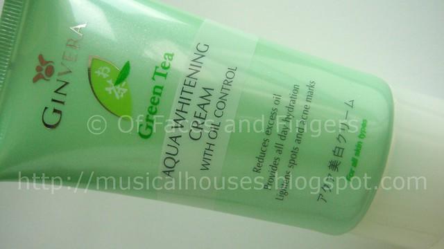 ginvera aqua whitening cream