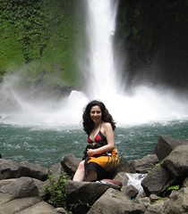 Beautiful Woman (slr1272) Tags: woman sexy love beautiful lady waterfall rainforest costarica paradise desire bikini jungle tropical lovely lafortuna lustforlife