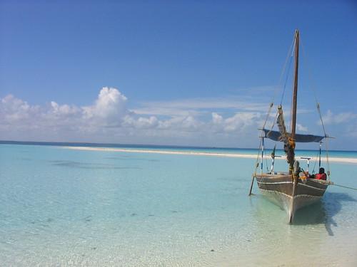 Las Tranquilas aguas de la Isla de Mafia