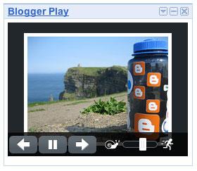 Blogger Play Gadget