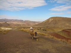 Painted Hills and Lookout Mountain 021 (na_praha) Tags: paintedhills