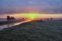 A New Dawn A New Day (torimages) Tags: cloud water misty clouds sunrise frost glastonbury somerset rhine levels allrightsreserved somersetlevels rhyne butleighmoor donotusewithoutwrittenconsent copyrighttorimages