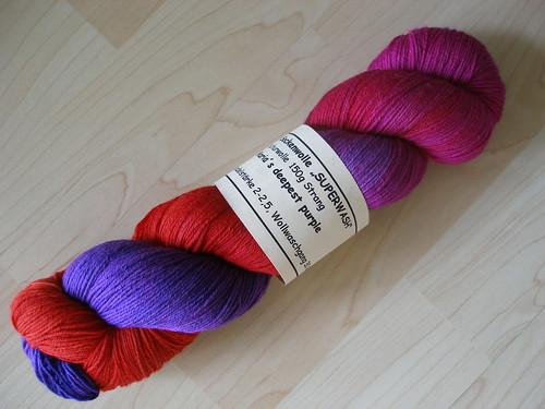 Wollmeise Sockenwolle