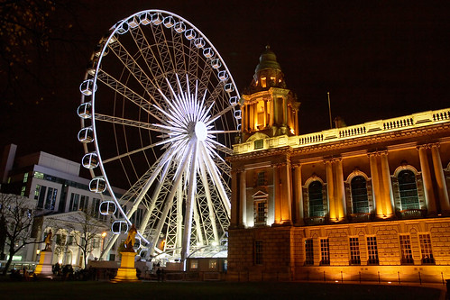 Belfast Wheel and City Hall