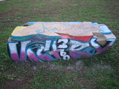Graffiti Bench