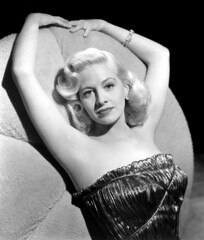 Marilyn Maxwell (david haggard) Tags: portrait bw glamour hollywood marilynmaxwell