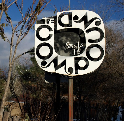 Alexander Girard's Sign for The Compound