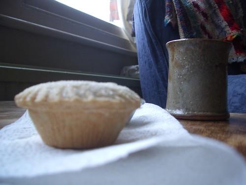 mince pie and coffee treats