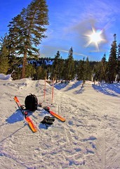bluebird day (on2wheelz) Tags: winter sun snow ski skiing fisheye tokina hdr northstar photomatix tonemapped northstarattahoe 1017mm northstartahoe jeffav jeffav2007