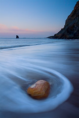Black Nab (jasontheaker) Tags: ocean uk winter sunset sea seascape cold landscape bay north wave boulders whitby landscapephotography saltwick coasttocoast jasontheaker northyorkshire pprowinner blacknab