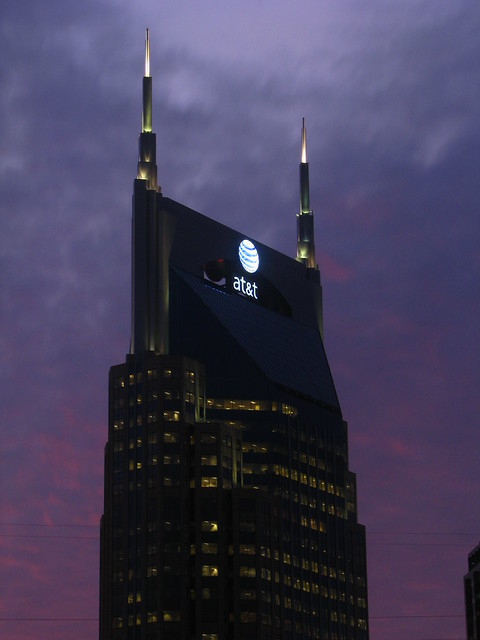 At&T Building at Dusk #4 - 22 Minutes after Sundown