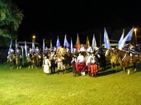 -Escuadra Ecuestre Hernando-, en Catamarca