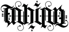 FABIAN AMBIGRAM (wowtattoos) Tags: tattoo wow mark palmer tattoos inversion lettering fabian custom ambigram wowtattoos