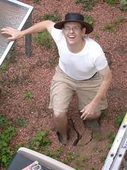 Knee Deep in our Backyard Mud