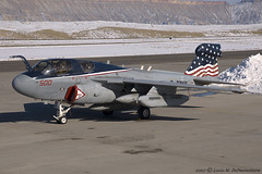 Grumman EA-6B Prowler -- VAQ-140 'Patriots' - NAS Whidbey Island, WA (BuNo 163399) (One Mile High Photography) Tags: airplane colorado nikond70 aviation planes usnavy allrightsreserved 1000views planespotting militaryaircraft jetaircraft grandjunctionco kgjt aviationphotography modernaircraft militaryfighteraircraft coloradophotographer adobephotoshopelements50 grandjunctionregionalairport vaq140patriots grummanea6bprowler naswhidbeyislandwa electronicwarfareaircraft coloradoshooter onemilehighphotography wwwomhphotoscom 2013louisdepaemelaere