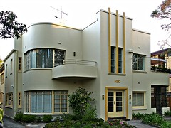Melbourne Art Deco House (colros) Tags: melbourne artdeco