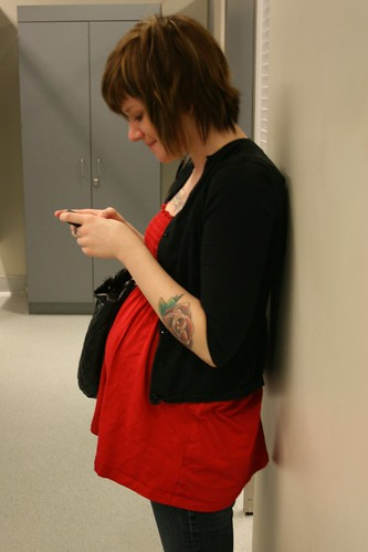Then it was off to a maternity shop because my 18 weeks pregnant daughter is ...
