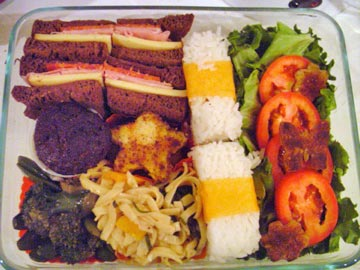 Bento Boxed Lunch