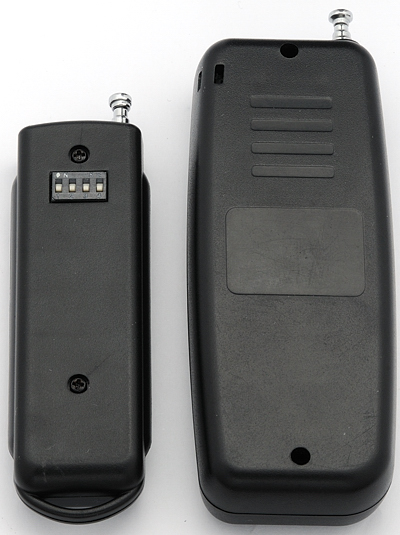 Rear view of transmitter -- Cleon vs N1