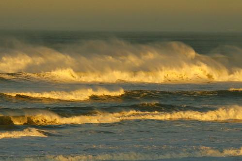 Sunrise - waves