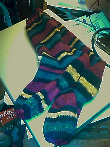 red and yellow mom socks2