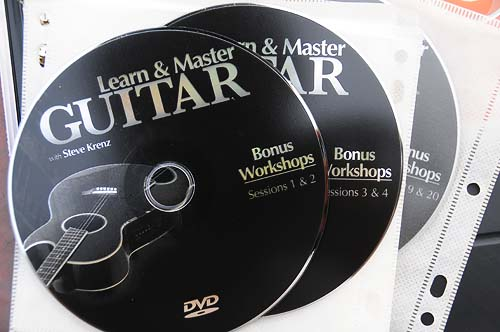 Learn and Master Guitar bonus workshop DVDs
