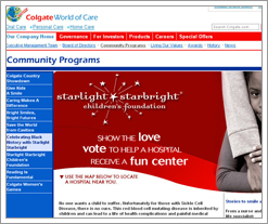 Colgate's Starlight Starbright Children's Foundation is taking votes to build a fun center in a hospital! by whatsthediffblog, on Flickr