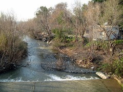 This river goes to seashore of Badrusiye