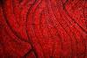 red mosaic (chirgy) Tags: red 2 catchycolors underground saturated pattern metro mosaic ukraine tiles trips countdown kiev kyiv swirly utatafeature palatsukrayina