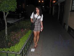 Jessica de Colegiala en Zona Rosa