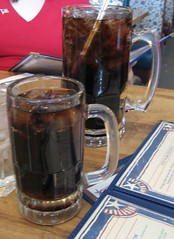 Sodas at Lincoln Restaurant