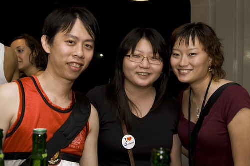 Suanie, KY, and Chui Hoon from Turborg
