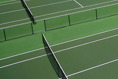 """Tennis Courts"" (roy_mac_an_iarla) Tags: white abstract black green sport fence diagonal tennis minimalist sanluisobispo calpoly tenniscourt xshape impressedbeauty diamondclassphotographer flickrdiamond brillianteyejewel clevercreativecaptures"