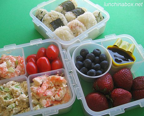 Bento picnic for hanami cherry blossom viewing picnic