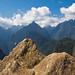Sculpture of the Machu Picchu Mountains