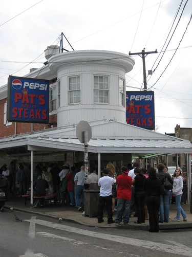 Pat's King of Steaks in Philly, PA