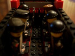 NH Troop Compartment (Brickule) Tags: brick arms lego military helicopter minigun commandos brickarms